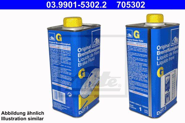 Remvloeistof DOT 3 1 liter