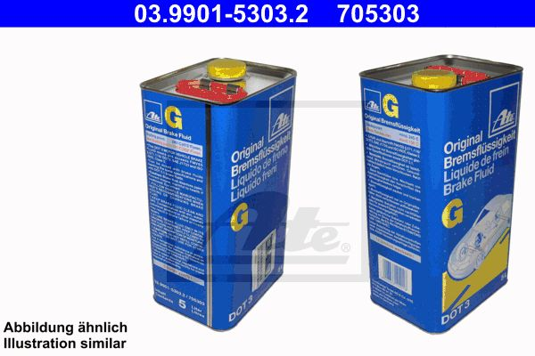 Remvloeistof DOT 3 5 liter