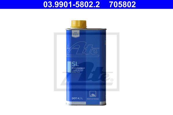 Remvloeistof DOT 4 1 liter