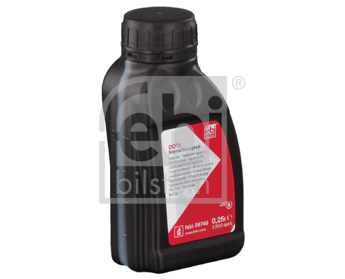Remvloeistof DOT 4 0.25 liter