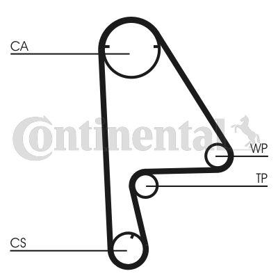 CONTITECH Distributieriem - CT862