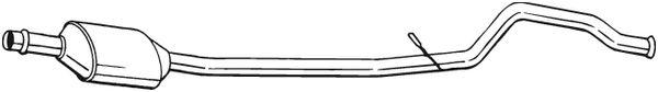 BOSAL Katalysator midden - 099-312