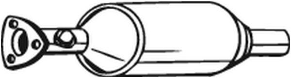 BOSAL Katalysator midden - 099-902