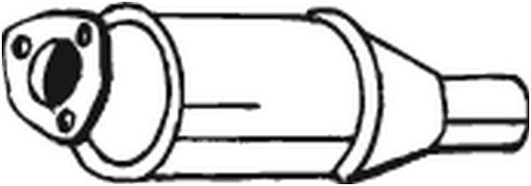 BOSAL Katalysator midden - 099-915