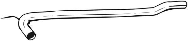 BOSAL Katalysator rep.set - 823-475