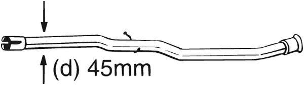 BOSAL Katalysator rep.set - 889-175