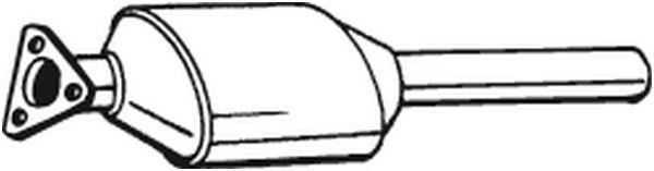 BOSAL Katalysator midden - 099-050