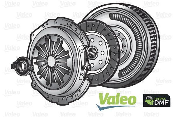 VALEO Koppelings kit FULLPACK DMF - 837039