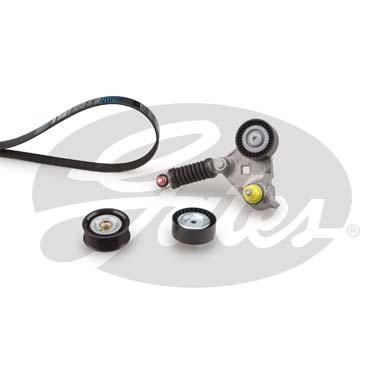 GATES Poly V-riemen kit Micro-Vu00ae Kit - K036PK1640