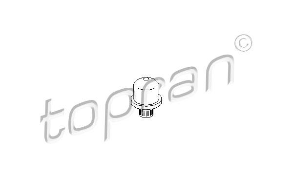 TOPRAN Kogelbout van koppelingsbediening - 700 667